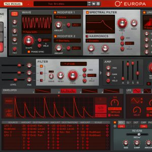 Europa synth DAW vst instrument software