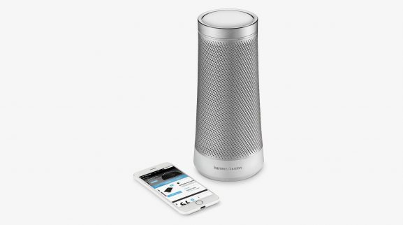 Harmon Kardon Microsoft Cortana speaker home assistant AI music streaming