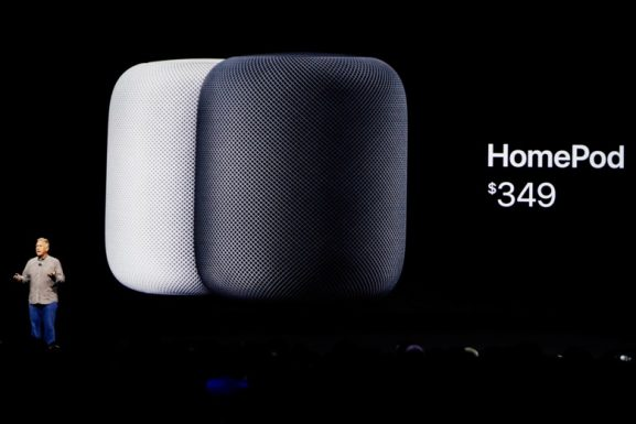 Apple HomePod speakers music streaming smart speakers home Siri connected