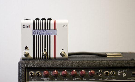 Sim1 XT-1 guitar pedal emulator modelling model tone NAMM