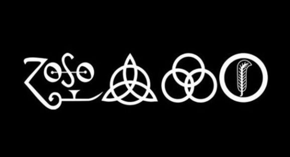 Led Zeppelin band logos marketing