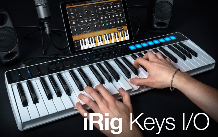 iRig Keys makes mobile music making a fully realised dream