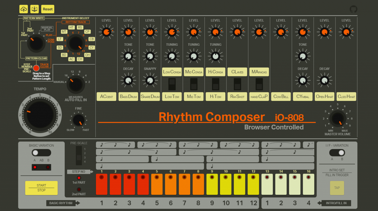 the legendary 808 drum machine is free in your web browser routenote blog. Black Bedroom Furniture Sets. Home Design Ideas