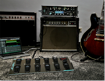 Nektar Pacer pedalboard guitar MIDI DAW amp control footswitch