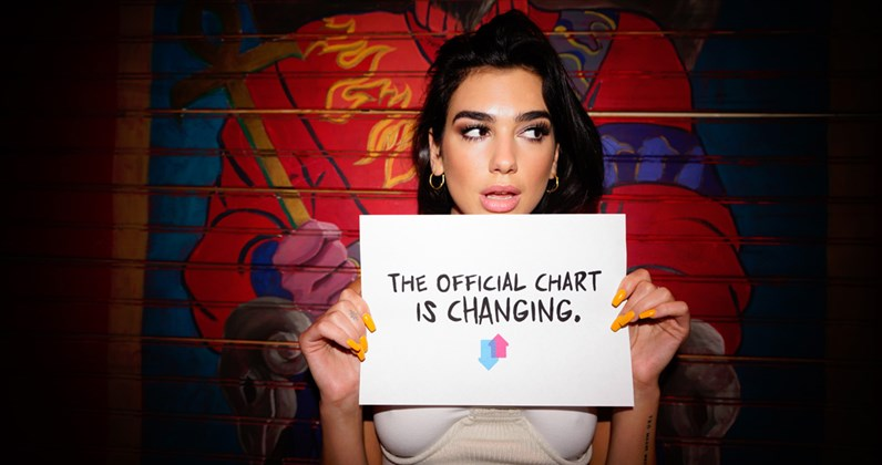 UK Top 40 singles chart will now count video streams towards