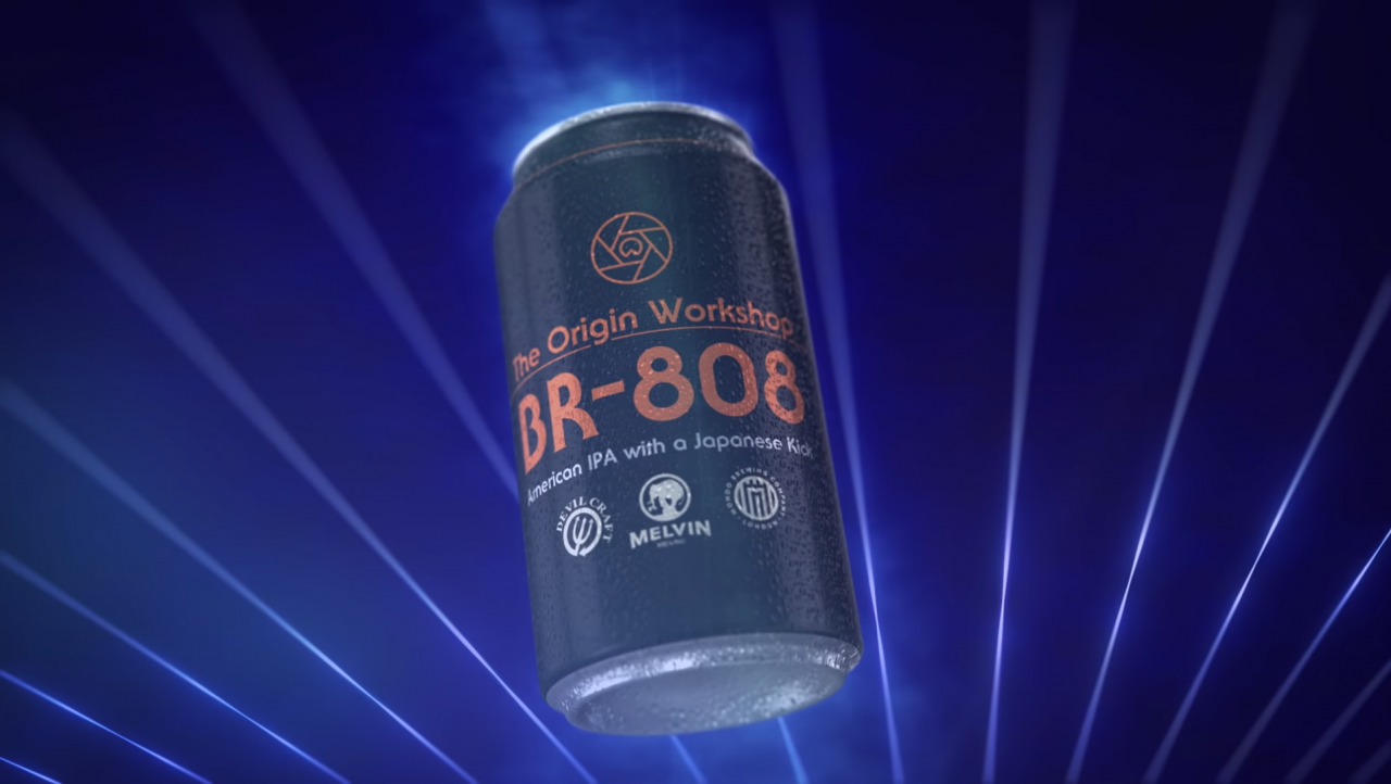 roland s 808 reaches it s natural conclusion and becomes a beer
