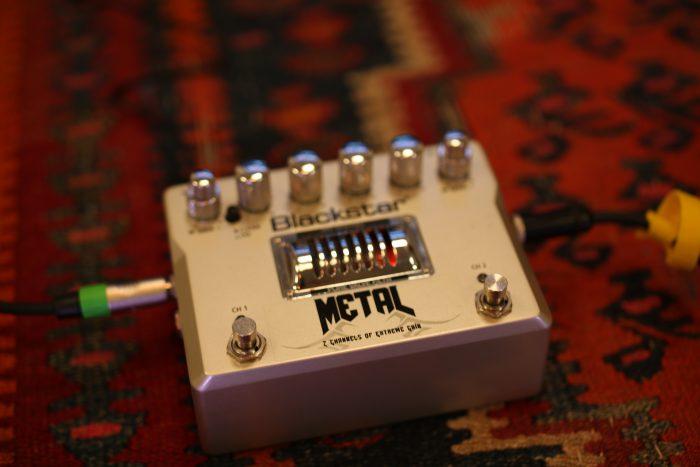 Blackstar Metal pedal distortion gain heavy valve effects fx