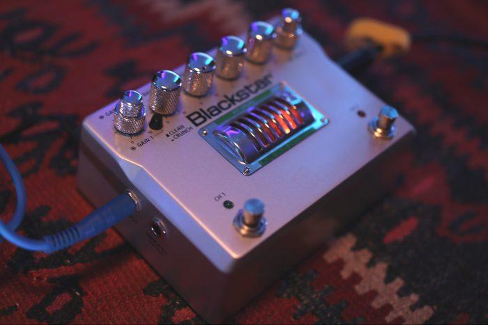 Blackstar dual pedal distortion gain heavy valve effects fx