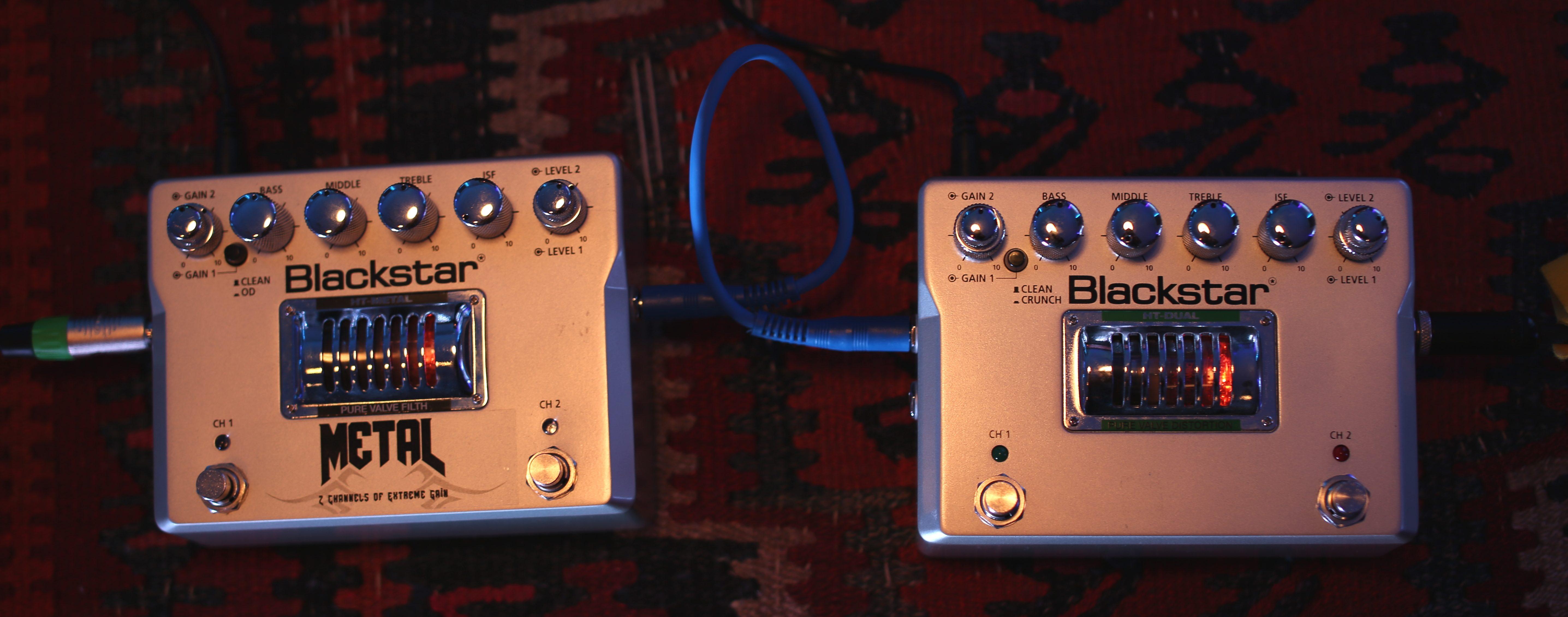 Blackstar Metal Dual pedals distortion gain crunch guitar bass instrument fx effects