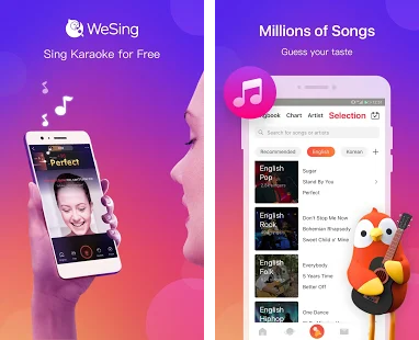 WeSing Karaoke and its livestreaming-video Apps Are The