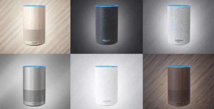 Amazon Echo second generation smart speaker alexa music streaming