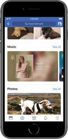 Facebook Music Lip Sync Live stories profile