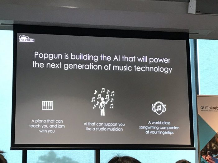 Popgun music ai artificial intelligence music production creation pop music
