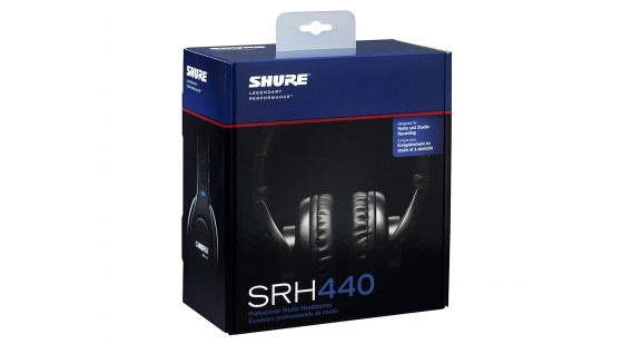 Shure SRH440 headphones music listening cyber week deals discounts