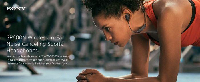 Sony SP600N wireless earbuds earphones cyber monday deals