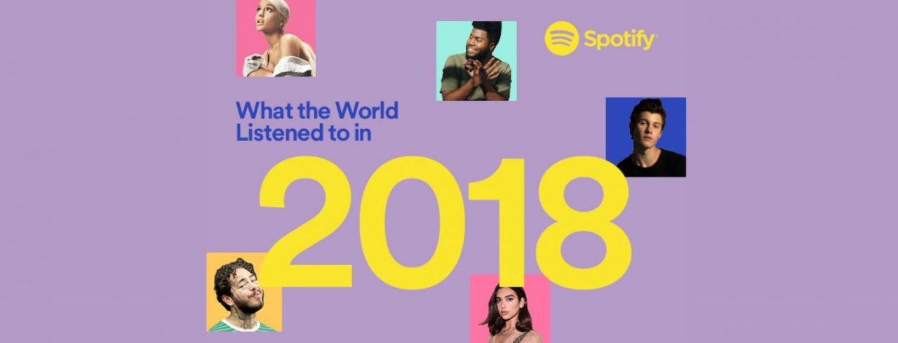 Spotify reveal the biggest songs and artists of 2018 - RouteNote Blog
