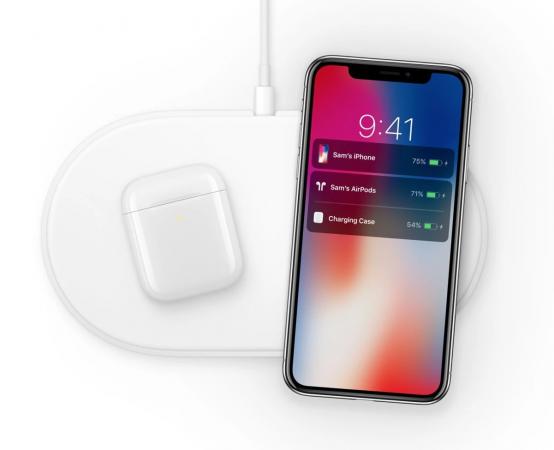 Apple AirPods AirPower wireless charging earbuds earphones wireless listening