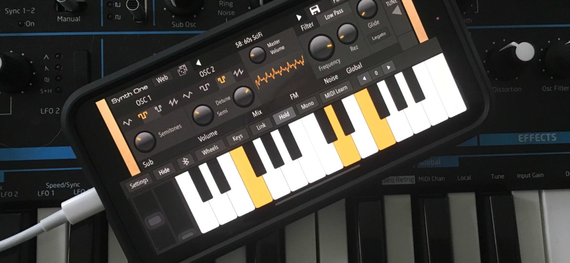 AudioKit's amazing Synth One is now on iPhone free - RouteNote Blog