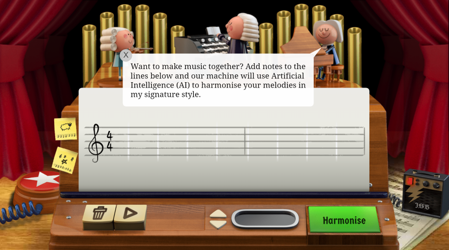 Make music with Bach from Google search - RouteNote Blog