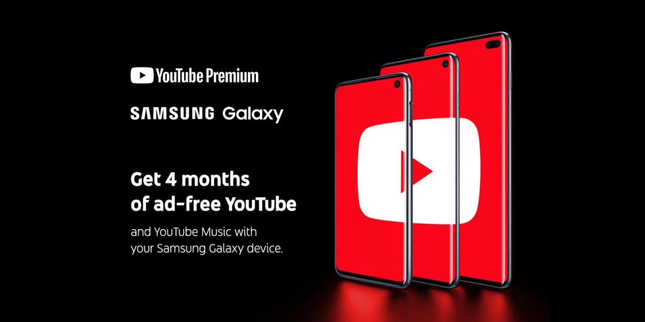 Samsung Galaxy owners are getting free YouTube Premium