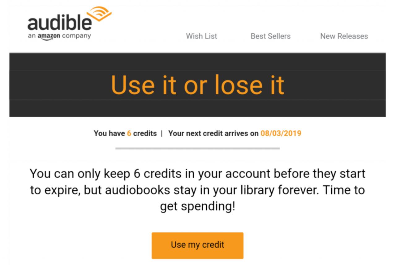 Buy Amazon Audible Credits