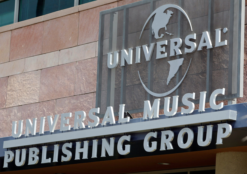 Up to 50% of major label Universal Music Group is for sale