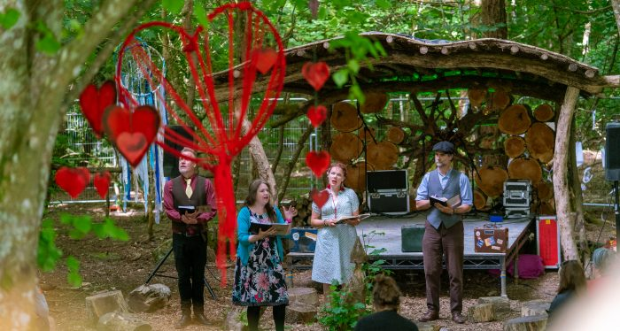 great estate cornwall cornish festival whispering woods poetry