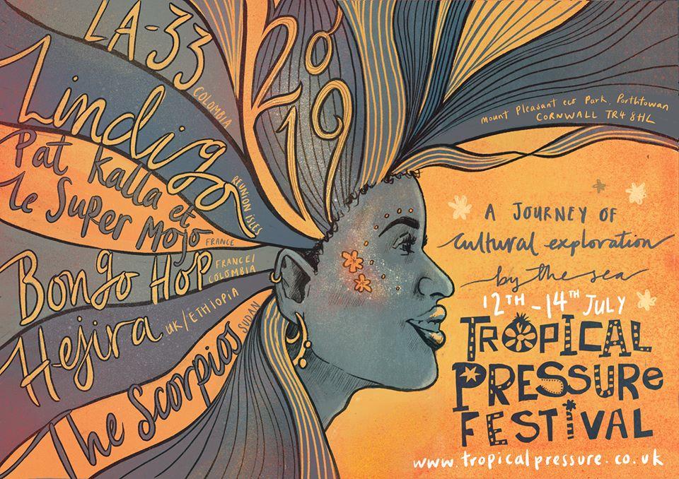 Tropical Pressure festival cornwall afro Caribbean latin america vibes eco park porthtowan