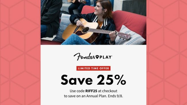 Get 25 Off Fender S Online Guitar Lessons Routenote