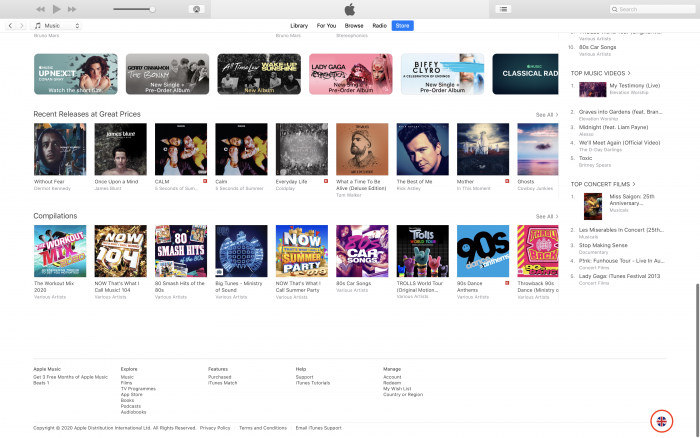 iTunes - Step Two
