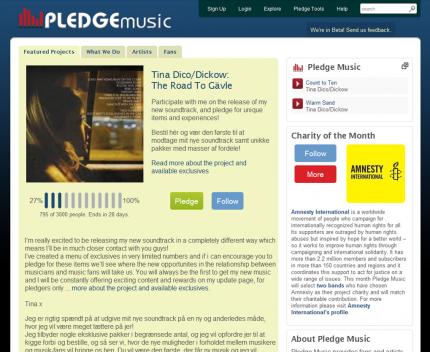 pledge music