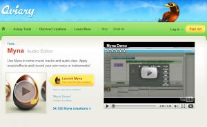 Myna - Online Sound Editor