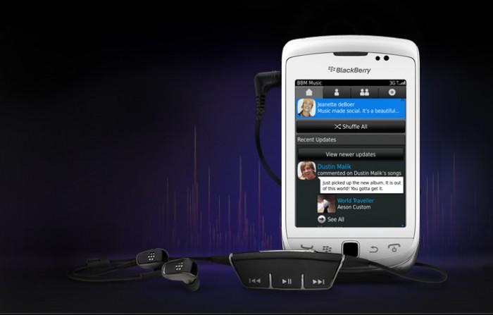 bbm music blackberry music streaming service