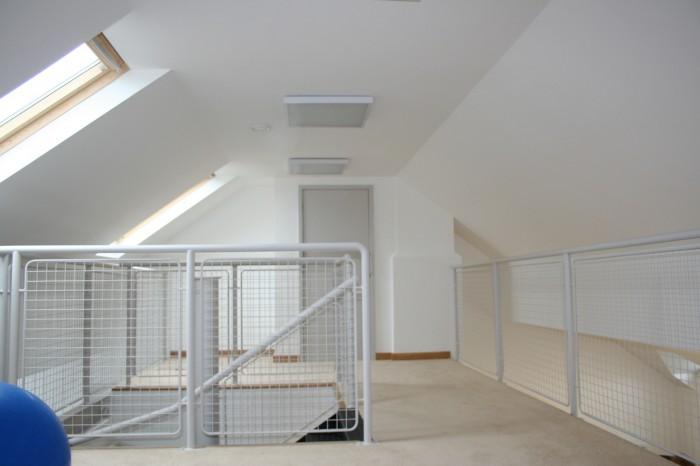 RouteNote office upstairs