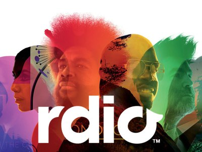 rdio logo music streaming company vdio