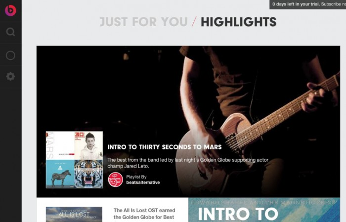 beats music highlight the best music being listened to from around the world