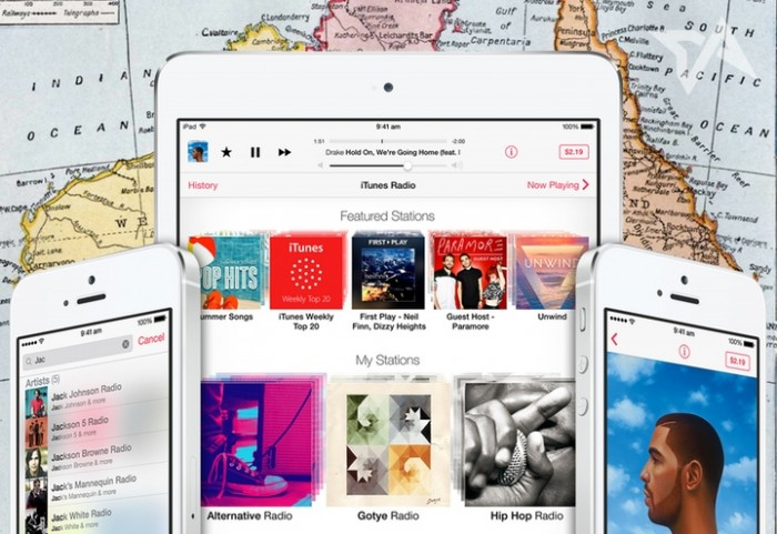 itunes radio music streaming in australia iphone ipad ipod apple tv