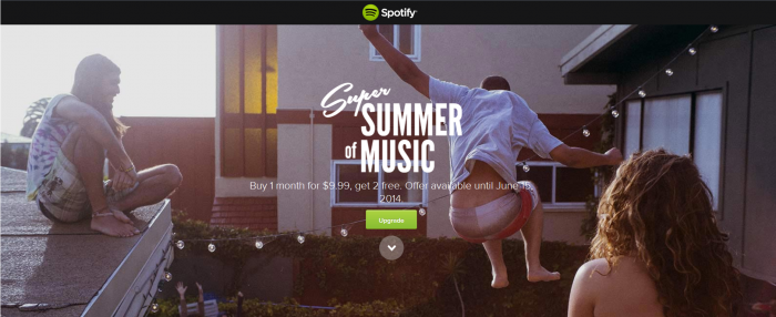 super summer of music spotify promotion coupon