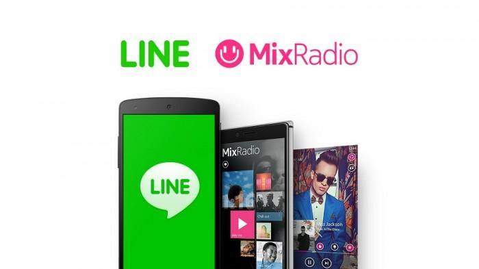 MixRadio Line