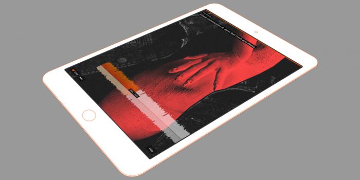 SoundCloud iPad Design 1