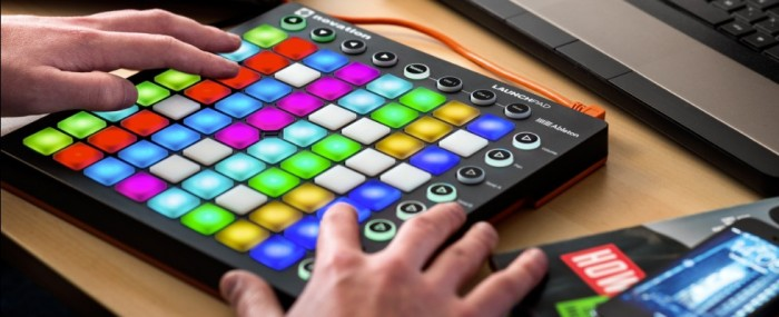 The new  launchpad in action