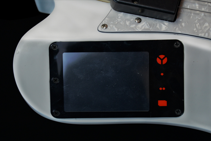 touch screen white