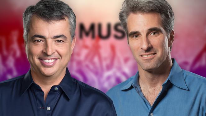 Eddy Cue and Craig Federighi, Apple SVP's