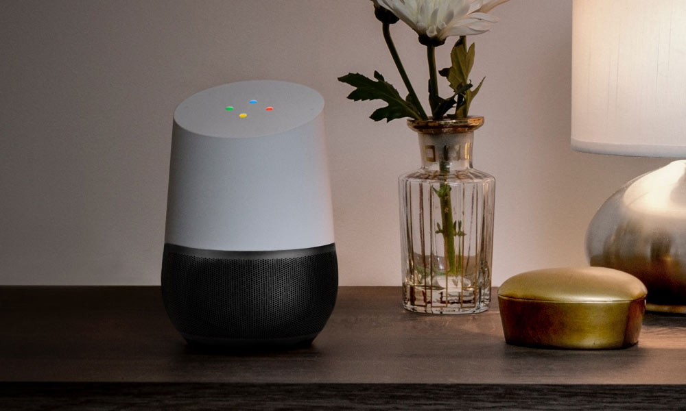 Google Home AI assistant music