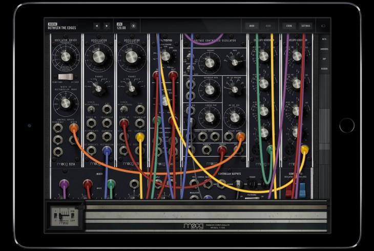 Moog synth app