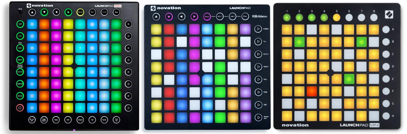 MIDI controller launch music production DAW