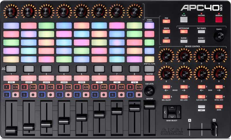 digital music production MIDI controller