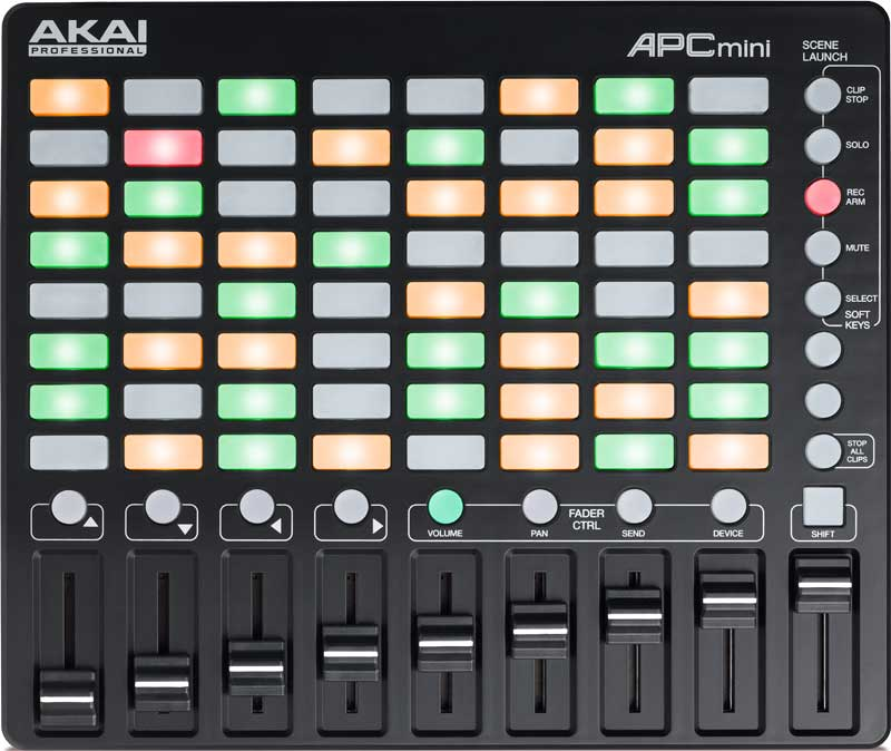 MIDI controller mixing music production