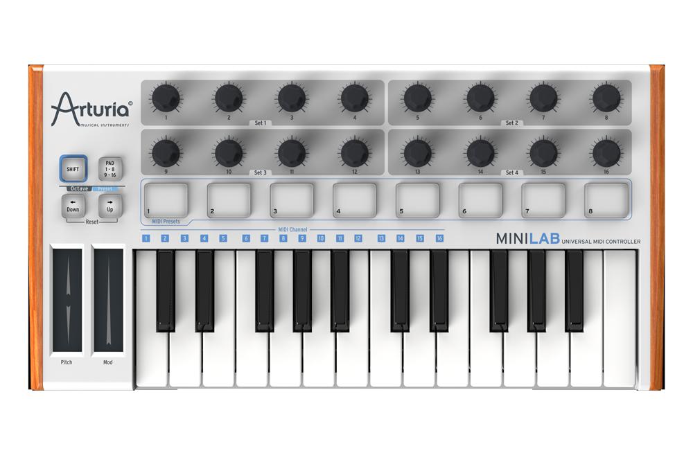 Arturia MiniLab MIDI controller music DAW