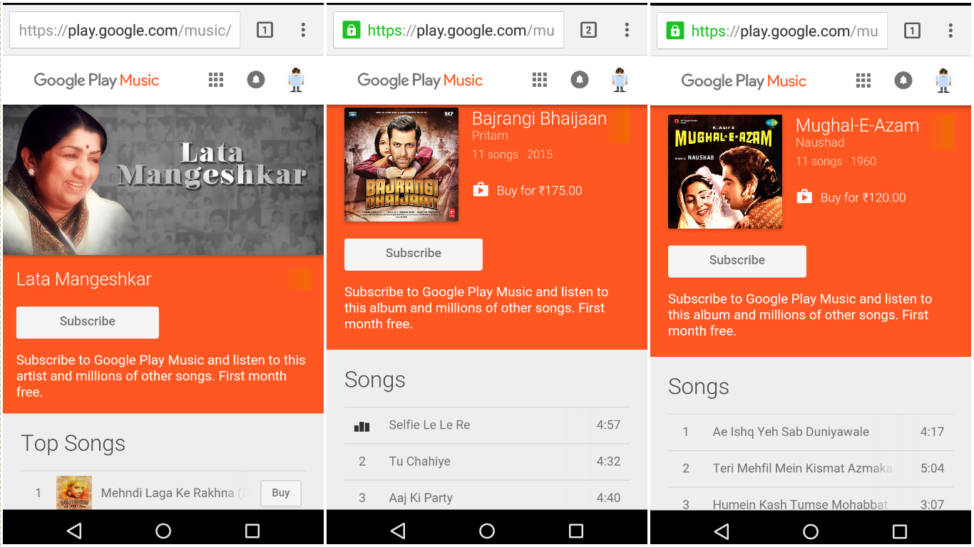 GPM Google Play Music streaming launch YouTube Red